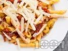 Рецепта Паста с маслини и мариновани сушени домати